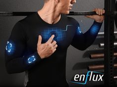 Enflux Smart Clothing is raising funds for Enflux Exercise Clothing: Real-time Analysis. Better Form on Kickstarter! Improve form, more power, and better results! Enflux analyzes your entire body in real-time. App provides image and digital coach. Iphone Lockscreen Wallpaper, Smart Textiles, Web Design, Futuristic Armour, Most Viral Videos, Smart Outfit, Wearable Technology, 5 News, Urban Life