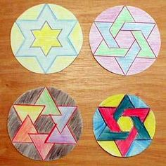 Matematik Cats hexagramlarda
