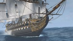 Assassin's Creed IV: Black Flag Screenshots for Windows - MobyGames Pirate Pictures, Assassins Creed Black Flag, Hms Hood, Old Sailing Ships, Lego Ship, Fantasy, Ship Art, Tall Ships, Model Ships