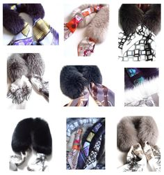 MaiTai's Picture Book: New collection of scarf fur collars