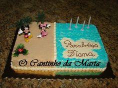 O Cantinho da Marta: Bolo Aniversário Diana - 1