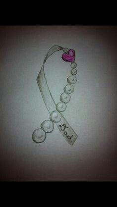 Ribbon tattoo