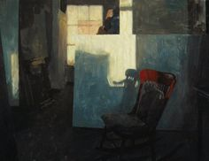 Hollis Dunlap, Vermont based painter.  His work is very appealing to me - the use of light and shadow, his figure work, the way he uses brush strokes and details such as creases and folds to create visual motion.