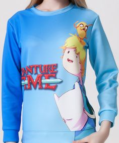 Find More Hoodies & Sweatshirts Information about Europe burst digital adventure time Turtleneck Sweater wholesale Sws0041,High Quality sweater sets plus size,China sweater dress plus size Suppliers, Cheap sweater knitting patterns men from Guangzhou vicky hair products co., LTD  on Aliexpress.com