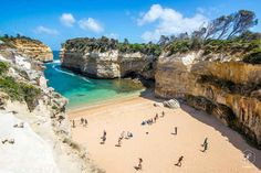 Johan Lolos - World Explorer & Photographer has spent the last year travelling all around Australia, and here shares 10 of his favourite experiences and destinations from his epic trip. This is Loch Ard Gorge on the Great Ocean Road in Victoria. Visit Australia, Australia Living, Australia Travel, Australia Country, Australia Photos, Wonderful Places, Great Places, Beautiful Places, Amazing Places