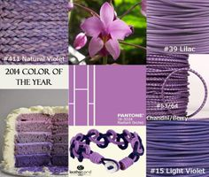 2014 Color of the Year, Radiant Orchid. #pantone #springtrend #radiantorchid