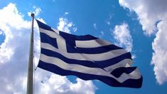 Greek flag by Stathis on DeviantArt Greek Independence, Greece Flag, Karpathos Greece, Greek Beauty, Acropolis, Flags Of The World, Tumblr Photography, Macedonia, Greek Islands