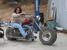 my rototiller is perma broke. The tines are turned by an enclosed chain assy. But the enclosure has rusted out and chain broke. Mini Motorbike, Trike Motorcycle, Moped Bike, Custom Trikes, Custom Motorcycles, Mongoose Mountain Bike, Mini Chopper, Motorised Bike, Drift Trike