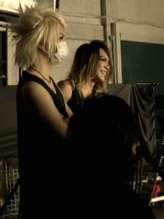 Reita and Kai. The GazettE