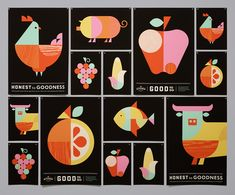 Branding The Kitchen is the prepared-foods division of Whole Foods Market. Moniker teamed up with San Francisco-based Rubber Design to create a visual identity system that spanned everything from identity and packaging to custom illustration and signage.