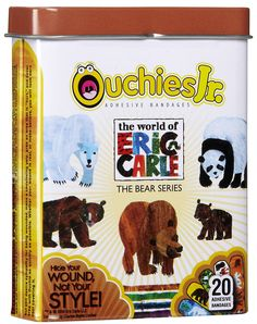 Ouchies Jr. Bandages Eric Carle The Bear Series