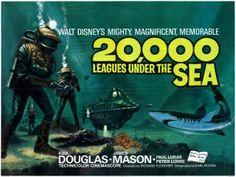 20,000 Leagues Under The Sea (1954).  Kirk Douglas * James Mason * Paul Lukas * Peter Lorre * Robert J. Wilke