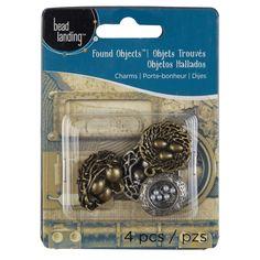 Bead Landing™ Found Objects™ Nest Charm Assortment $1