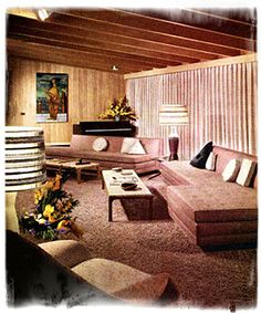 1950s interior design | the Clog art+pop culture: 1950s Interior Design (Part 3)