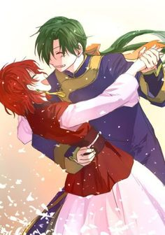 Yona and Jae-ha dancing- Yona of the Dawn/ Akatsuki no Yona