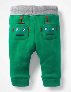 Novelty Appliqué Trousers Trousers & Jeans at Boden Baby Outfits, Toddler Boy Outfits, Cute Outfits For Kids, Toddler Pants, Baby Pants, Toddler Boys, Under Armour Baby Boy, Kids Nightwear, Baby Boutique Clothing