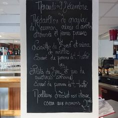 #ardoise #menunoël #Food #Foodista #PornFood #Cuisine #Yummy #Cooking