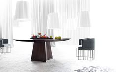 Italian Furniture in USA - Pensami Table in Contemporary Dining Tables