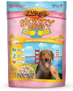 Zuke's Skinny Bakes 2s Dog Biscuit, 9 oz -- Wow! I love this. Check it out now! : Dog treats