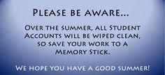 Be aware!