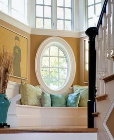 stair window nook