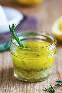 Vinaigrette citron et thym