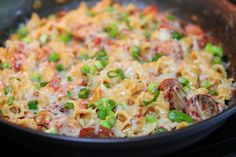 One pan Spicy Sausage Pasta