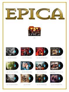 Album Art Icons: Epica