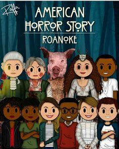 American horror story: Roanoke