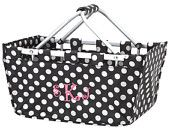 Black and White Market Tote