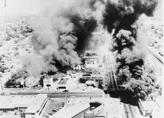 Rumors of police brutality at the start of the Watts Riots was the flashpoint for rioting and rebellion that had been simmering under the surface. California History, Southern California, Vintage California, Watts Riots, The Flashpoint, Days In August, August 15, Building On Fire, California Highway Patrol