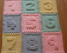 How to Crochet a Baby Blanket - Watch the video and make your Blanket!