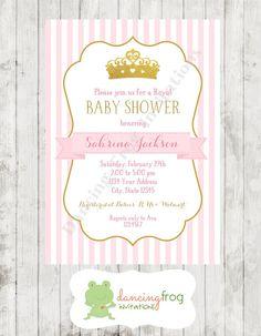 Royal Princess Baby Shower Invitation  by DancingFrogInvites