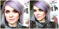HAIR: GIVING BLONDE HAIR A LILAC TWIST WITH BLEACH LONDON 'VIOLET SKIES' | good golly miss hollie