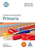 Libro: Cuerpo de Maestros Primaria. Temario Volumen 1.  http://katalogoa.mondragon.edu/janium-bin/janium_login_opac.pl?find&ficha_no=109117