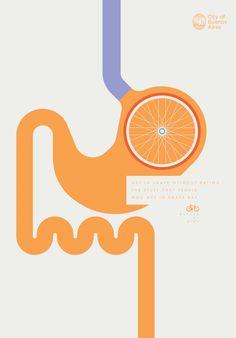 Buenos Aires Biking Ad Stomach