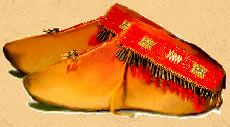 Cherokee Indians  moccasins