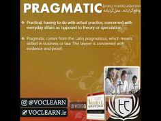 کلمه pragmatic از کتاب Verbal Advantage - سطح 1