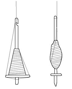 Detailed Instructions for Spinning on a Medieval Drop Spindle