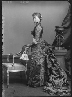 Photographs of Princess Louise, Duchess of Connaught (1860-1917) from an 1880s photo shoot