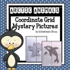 ... coordinate sets: Mystery Picture #1: Penguin Mystery Picture #2: Orca