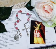 Unbreakable Catholic Chaplet of St. Apollonia - Patron Saint of Dentists and Against Tooth Disease and Toothaches by foodforthesoul on Etsy