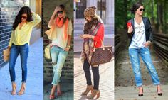 Outfits casuales con jeans Jean Outfits, Casual Outfits, Casual Chic, Capri Pants, Street Style, Youtube, Fashion, Adidas Men, Comfort Colors