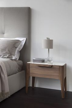 Sophisticated And Modern Nightstands With A Scandinavian Feel Loved by Woadden Nash Interiors
