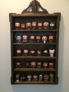 Wood Display Shelf for Funko Pop figures