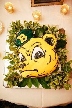 #Baylor groom's cake -- #SailorBear!