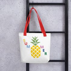 A spacious and trendy tote bag to help you carry around everything that matters. Coffee Accessories, No Plastic, Reusable Bags, Latin America, Tote Bags, Fabric, Tejido, Tela, Tote Bag