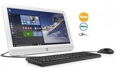 """BRAND NEW HP 19.45"""" All in One Computer Windows 10 WiFi 4GB 500GB (FULLY LOADED) #HP #computer"""