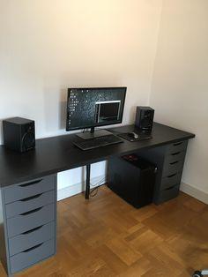 19 top minimalist computer desk images minimalist computer desk rh pinterest com