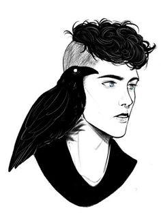 Ronan the raven cycle fan art